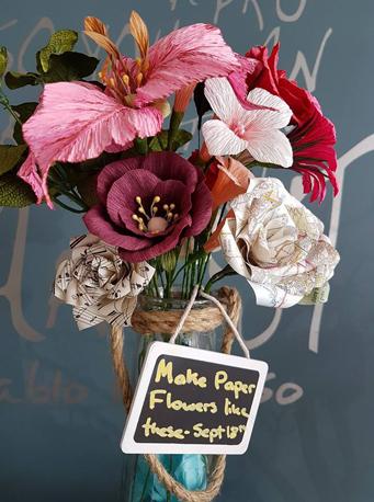 Paper Flowers Newton Abbot